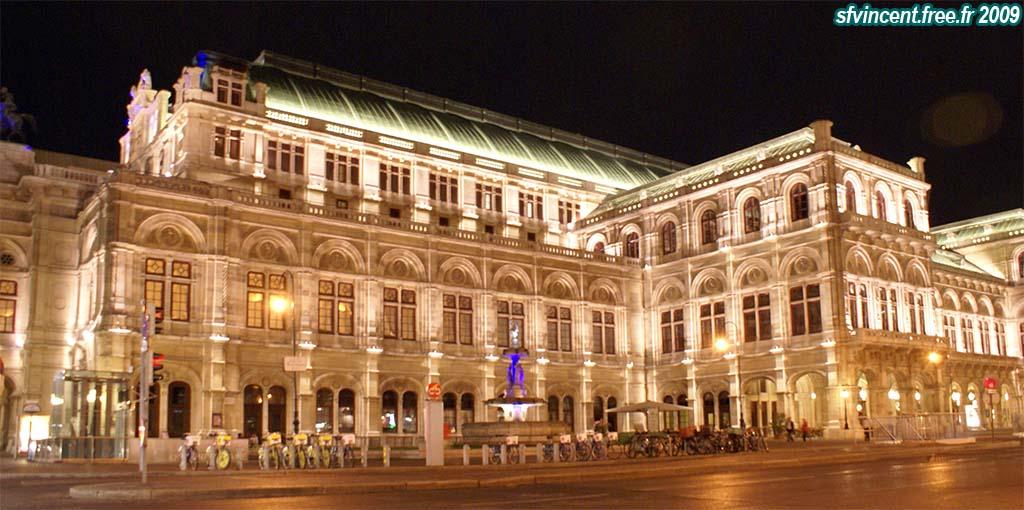 Ville de vienne le 39 staatoper 39 op ra d 39 etat de nuit - Office de tourisme de vienne autriche ...