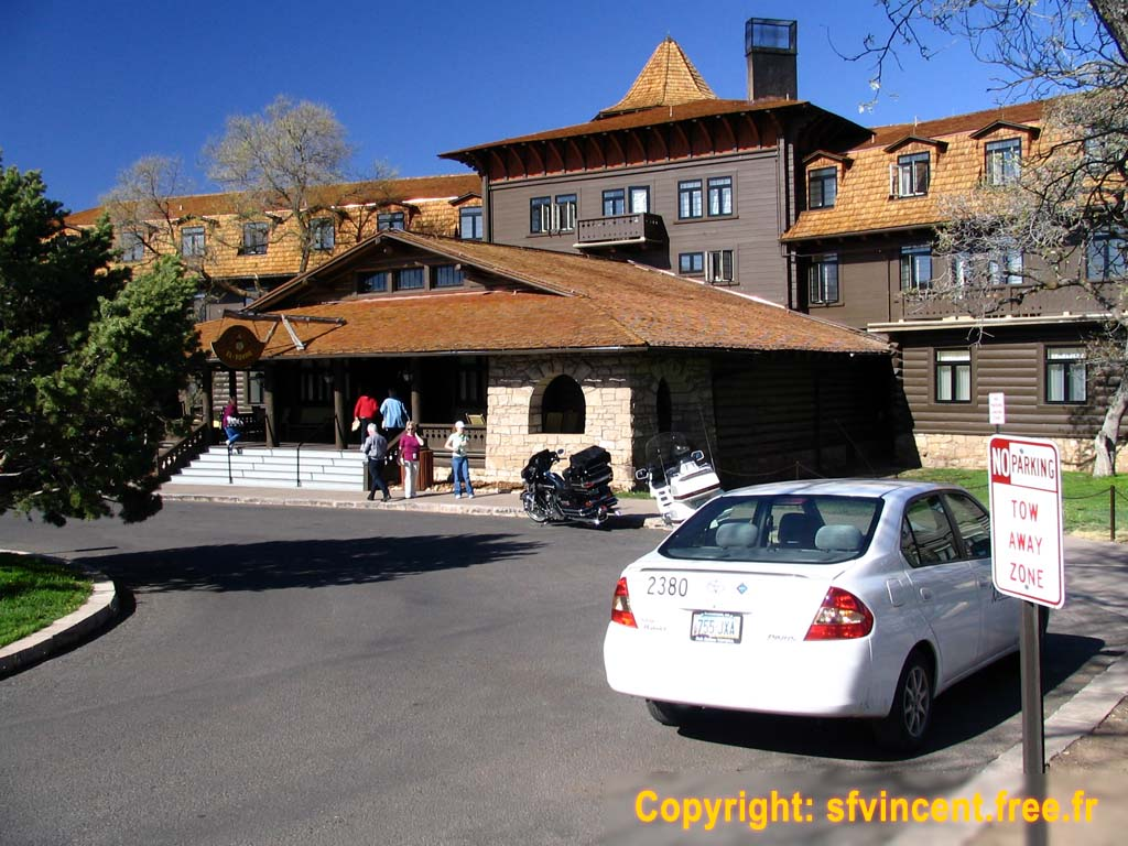 hôtel de luxe grand canyon