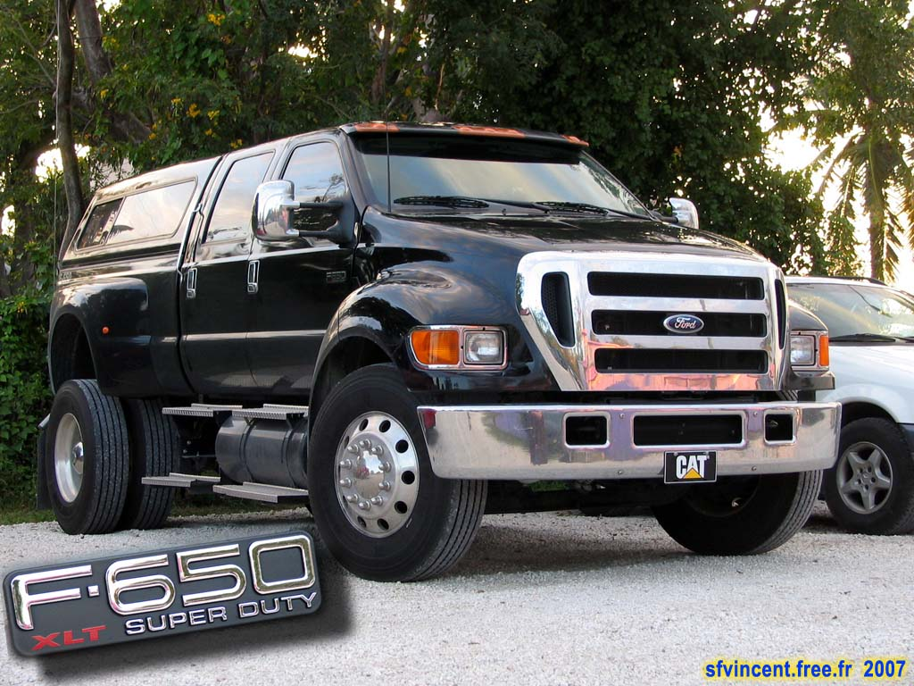 The ford f 650 concept truck is big the ford f 650 concept truck is - Biggest Truck F650 Jpg 1024 768